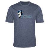 Performance Navy Heather Contender Tee-Blue Jays