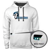 Contemporary Sofspun White Hoodie-Blue Jays