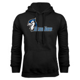 Black Fleece Hoodie-Blue Jays