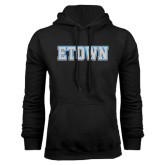 Black Fleece Hoodie-Etown