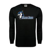 Black Long Sleeve TShirt-Blue Jays