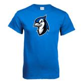Royal T Shirt-Blue Jays Mascot Distressed