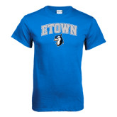 Royal T Shirt-ETOWN with Mascot