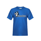 Youth Royal T Shirt-Blue Jays
