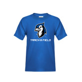 Youth Royal T Shirt-Track & Field