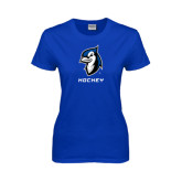 Ladies Royal T Shirt-Hockey