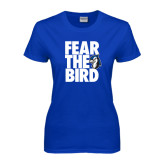 Ladies Royal T Shirt-Fear the Bird