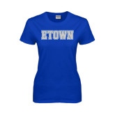 Ladies Royal T Shirt-Etown