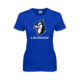 Ladies Royal T Shirt-Lacrosse