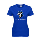 Ladies Royal T Shirt-Track & Field