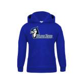 Youth Royal Fleece Hoodie-Blue Jays