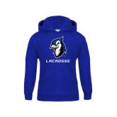 Youth Royal Fleece Hoodie-Lacrosse