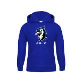 Youth Royal Fleece Hoodie-Golf