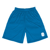 Performance Royal 9 Inch Length Shorts-Official Logo