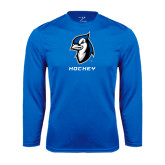 Syntrel Performance Royal Longsleeve Shirt-Hockey