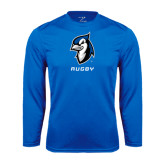 Performance Royal Longsleeve Shirt-Rugby