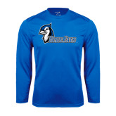 Syntrel Performance Royal Longsleeve Shirt-Blue Jays