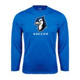 Syntrel Performance Royal Longsleeve Shirt-Soccer