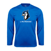 Performance Royal Longsleeve Shirt-Lacrosse