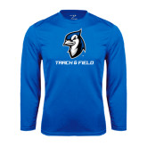 Performance Royal Longsleeve Shirt-Track & Field