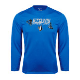 Performance Royal Longsleeve Shirt-Belt and Shoes Wrestling