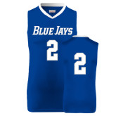 Replica Royal Adult Basketball Jersey-#2