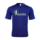 Performance Royal Heather Contender Tee-Blue Jays