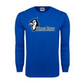Royal Long Sleeve T Shirt-Blue Jays