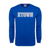 Royal Long Sleeve T Shirt-Etown