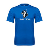Performance Royal Tee-Volleyball