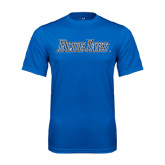 Performance Royal Tee-Blue Jays Wordmark