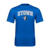 Syntrel Performance Royal Tee-ETOWN with Mascot