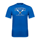 Performance Royal Tee-Crossed Sticks Lacrosse