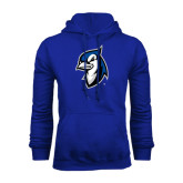 Royal Fleece Hoodie-Blue Jays Mascot