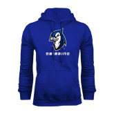 Royal Fleece Hoodie-Swimming