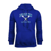 Royal Fleece Hoodie-Crossed Sticks Lacrosse
