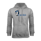 Grey Fleece Hoodie-Blue Jays