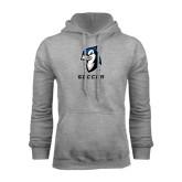 Grey Fleece Hood-Soccer