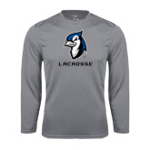 Performance Steel Longsleeve Shirt-Lacrosse