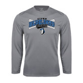 Performance Steel Longsleeve Shirt-Crossed Bats Baseball