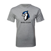 Grey T Shirt-Soccer