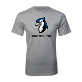 Grey T Shirt-Wrestling