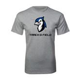 Grey T Shirt-Track & Field