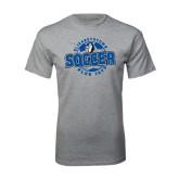 Grey T Shirt-Soccer Circle
