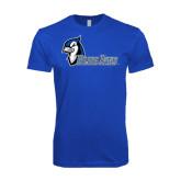 Next Level SoftStyle Royal T Shirt-Blue Jays