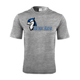 Performance Grey Heather Contender Tee-Blue Jays