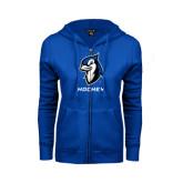 ENZA Ladies Royal Fleece Full Zip Hoodie-Hockey