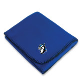 Royal Arctic Fleece Blanket-Blue Jays Mascot