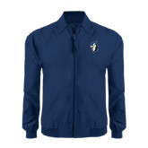 Navy Players Jacket-Blue Jays Mascot