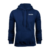 Navy Fleece Hood-Blue Jays Wordmark